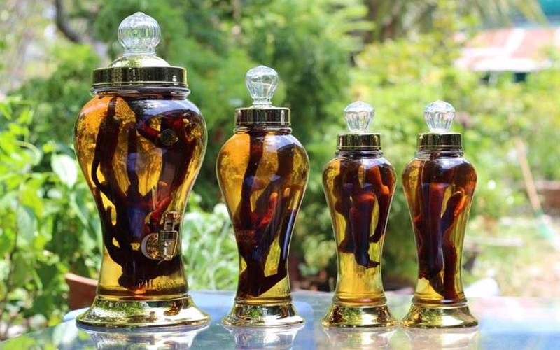 Bài thuốc ngâm rượu tăng cường sinh lý
